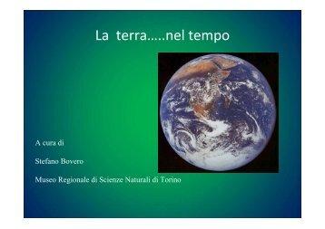 La terra..nel tempo