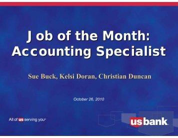 accounting specialist job description