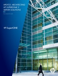 hp0-p23: architecting hp superdome 2 server solutions - HP Sales ...