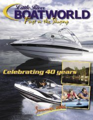 First on the Shuswap - Little River Boatworld