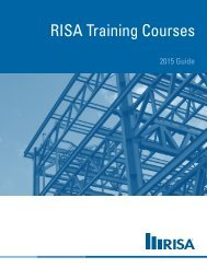 RISA Training Courses - RISA Technologies