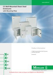 CS Wall-Mounted Sheet Steel Enclosures - Klockner Moeller Parts