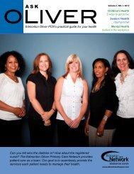 Ask Oliver November 2012 - Edmonton Oliver Primary Care Network