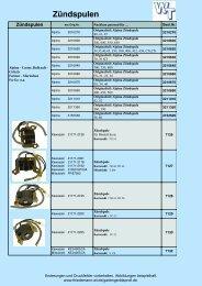 Zündspule passend Tecumseh 30560 A 30546 1633.0001 1416.0020
