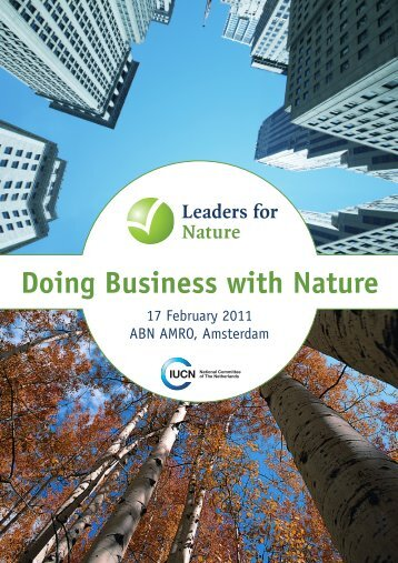 Booklet - Leaders for Nature