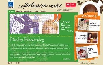 coffeeteam voice nr 1(8)2011 - Agape