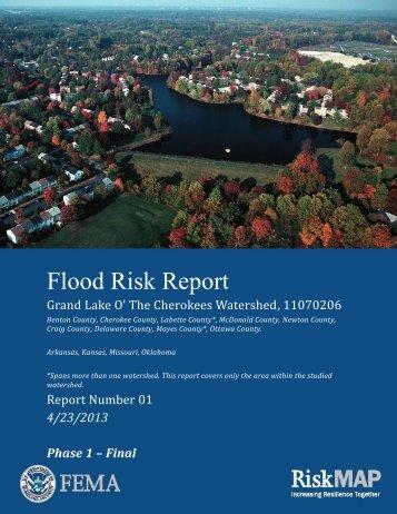 Flood Risk Report - RiskMAP6