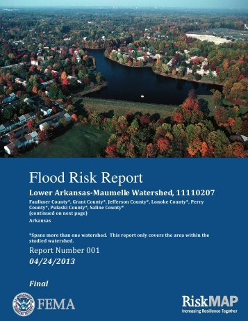 Flood Risk Report - RiskMAP6