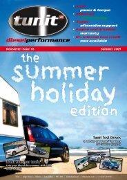 Newsletter Issue 18  Summer 2009 dieselperformance - Tunit