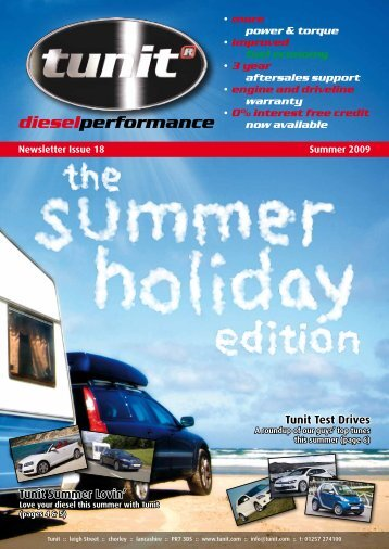 Newsletter Issue 18  Summer 2009 dieselperformance - Tunit