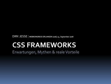 CSS FRAMEWORKS - Menschen Schreiben Geschichte