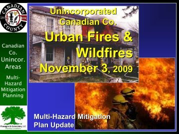 Canadian County Unincorporated - 7 - Urban Fire & Wildfire
