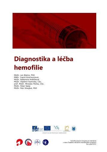 Diagnostika a léčba hemofilie - Český národní hemofilický program