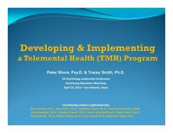 TMH Workshop_AVAPL_040912_FINAL.pdf - VA Psychology ...