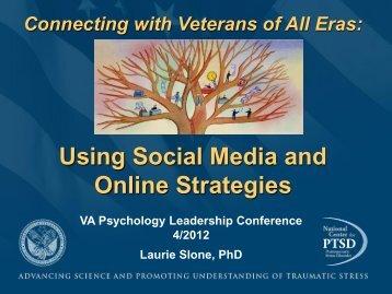 Sloane--Social Media.pdf - VA Psychology Leadership Conference