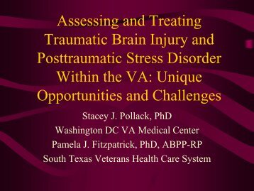 TBI - Association of VA Psychologist Leaders