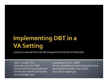 AVAPL DBT clinical breakout 3-30-12.pdf - Association of VA ...
