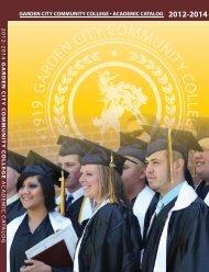 2012-2014 GCCC Course Catalog - Garden City Community College