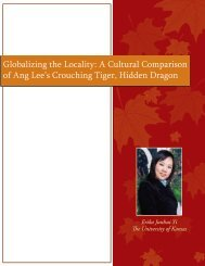 Globalizing the Locality: A Cultural Comparison ... - Relevant Rhetoric
