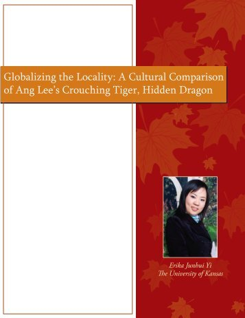 Globalizing the Locality: A Cultural Comparison ... - Relevant Rhetoric