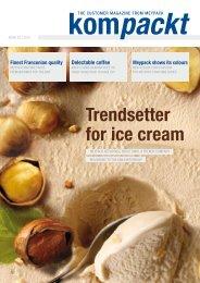Trendsetter for ice cream - Meypack