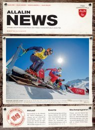 Allalin News Nr. 6 - SAAS-FEE | SAAS-GRUND | SAAS-ALMAGELL | SAAS-BALEN
