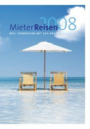 MieterReisen Katalog 2008