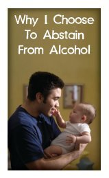 Why I Choose to Abstain from Alcohol - Fellowship Tract League