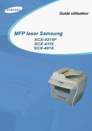 MFP laser Samsung - resintel