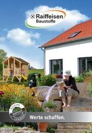 Raiffeisen Baustoffe - Werte schaffen - März 2015