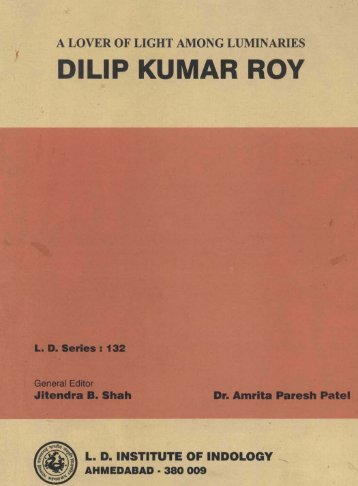 DILIP KUMAR ROY - pptfun