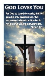 God Loves You - Fellowship Tract League