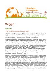 Versione stampabile - Slow Food