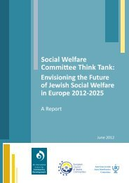 Social Welfare Final Report - Oxford Institute of Ageing - University ...