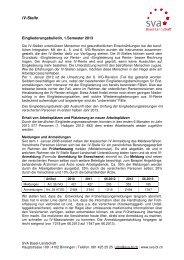 Eingliederungsbulletin, 1. Semester 2013 - SVA-BL