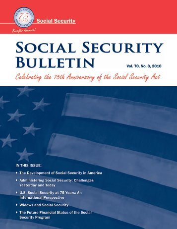 an analysis of social security in america