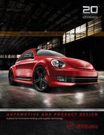 AUTOMOTIVE AND PRODUCT DESIGN - Air Design-Sparco - Air ...