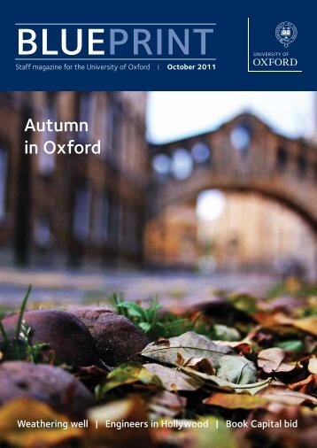 Blueprint - October 2011 - Oxford Institute of Ageing - University of ...