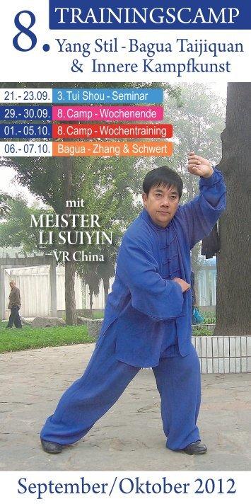 8. Taiji-Camp 29. September - 07. Oktober 2012 - Udo Werner