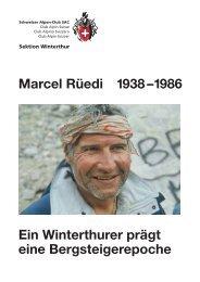 Marcel Rüedi 1938 –1986 Ein Winterthurer prägt ... - SAC-Rorschach