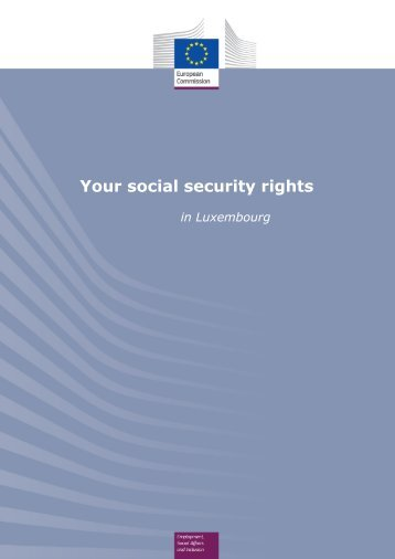Social security and insurance - European Commission - Europa