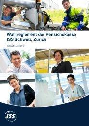 Wahlreglement gültig ab 01.06.2012 - Pensionskasse der ISS Schweiz