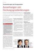 Auswirkungen von Deckungsgradänderungen ... - Libera - Seite 2