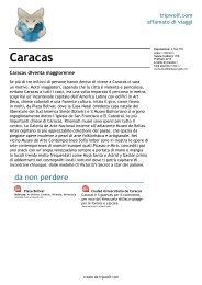 Caracas - SaltaSullaVita.com