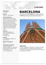 BARCELONA - SaltaSullaVita.com