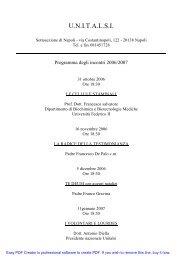 Programmi incontri Unitalsi - SaltaSullaVita.com