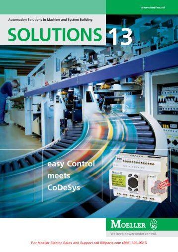 SOLUTIONS 13 - Moeller Electric Parts