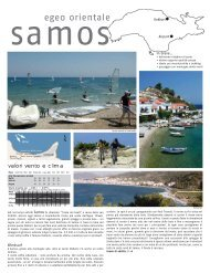 egeo orientale - vacanze viaggi windsurf