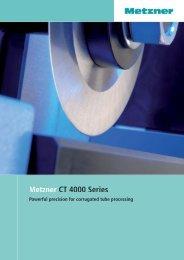 E CT 4000 Series Deckblatt 1.psd - METZNER Maschinenbau GmbH