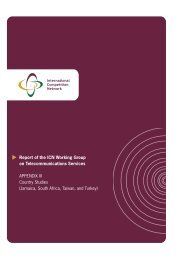 Reference (1) :Universal Service - ICT Law and Regulation